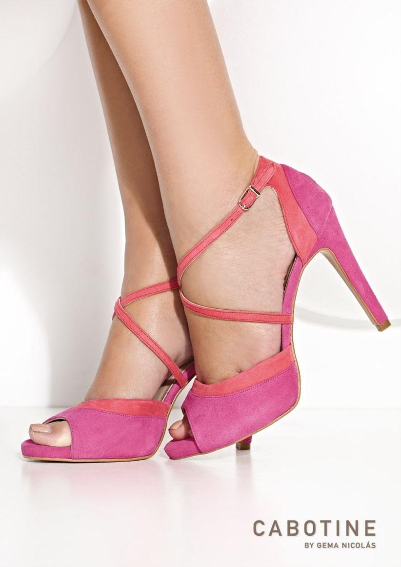 Zapatos de novia de colores 2016 - bodas.com.mx