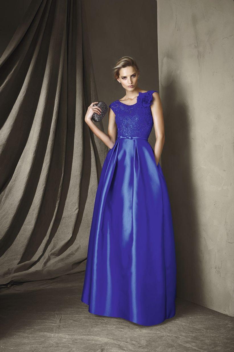 50 vestidos de noche azul rey para brillar como invitada - bodas.com.mx