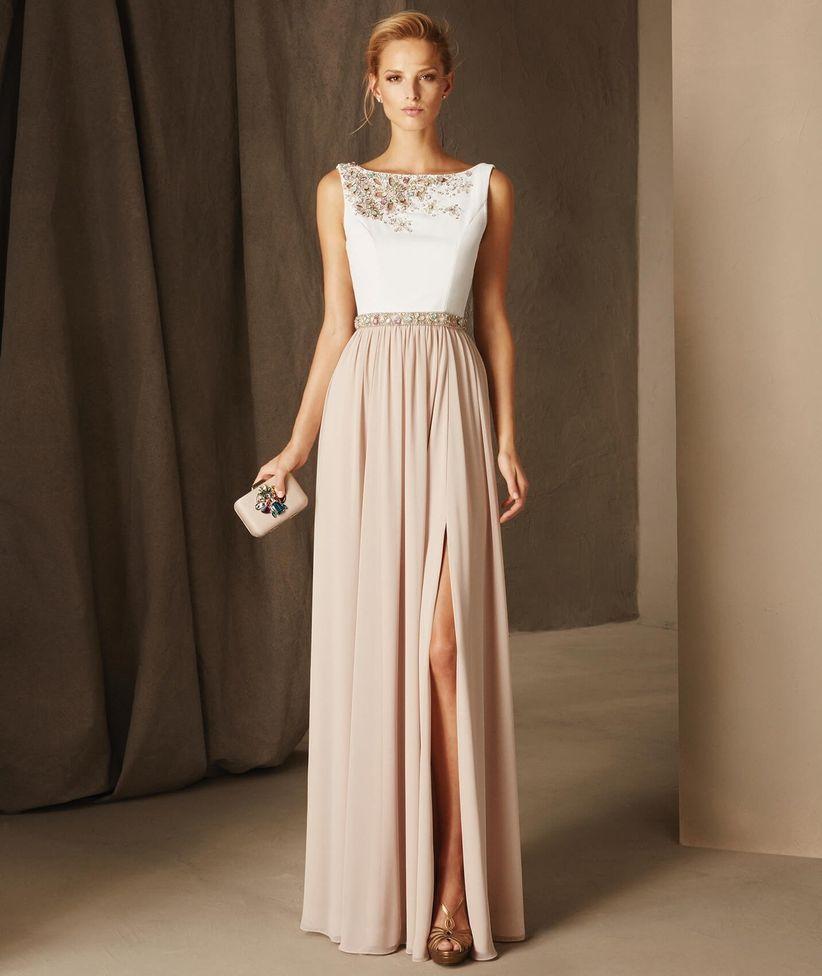 Vestidos modernos para boda de noche