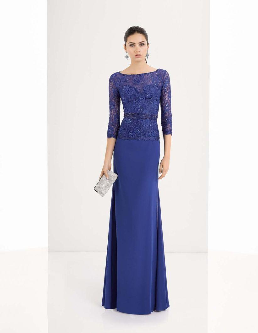 Imagenes de vestidos de fiesta azules