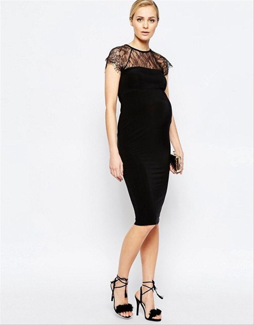 35 vestidos de fiesta para embarazadas  estilismos que valen por dos . 070b1ed95a29
