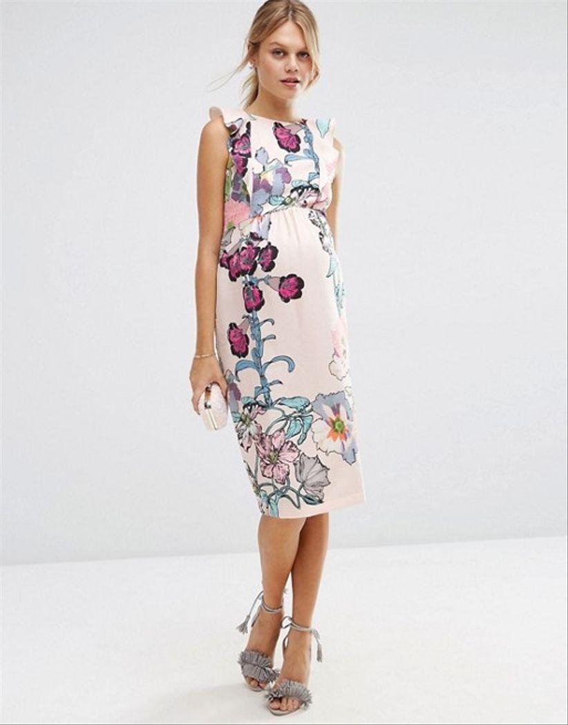 35 vestidos de fiesta para embarazadas  estilismos que valen por dos ... 3ba44a0b77c1