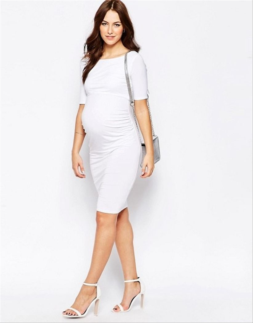 Vestido coctel embarazada