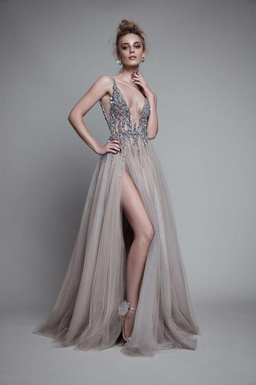 Vestidos de noche modernos y elegantes