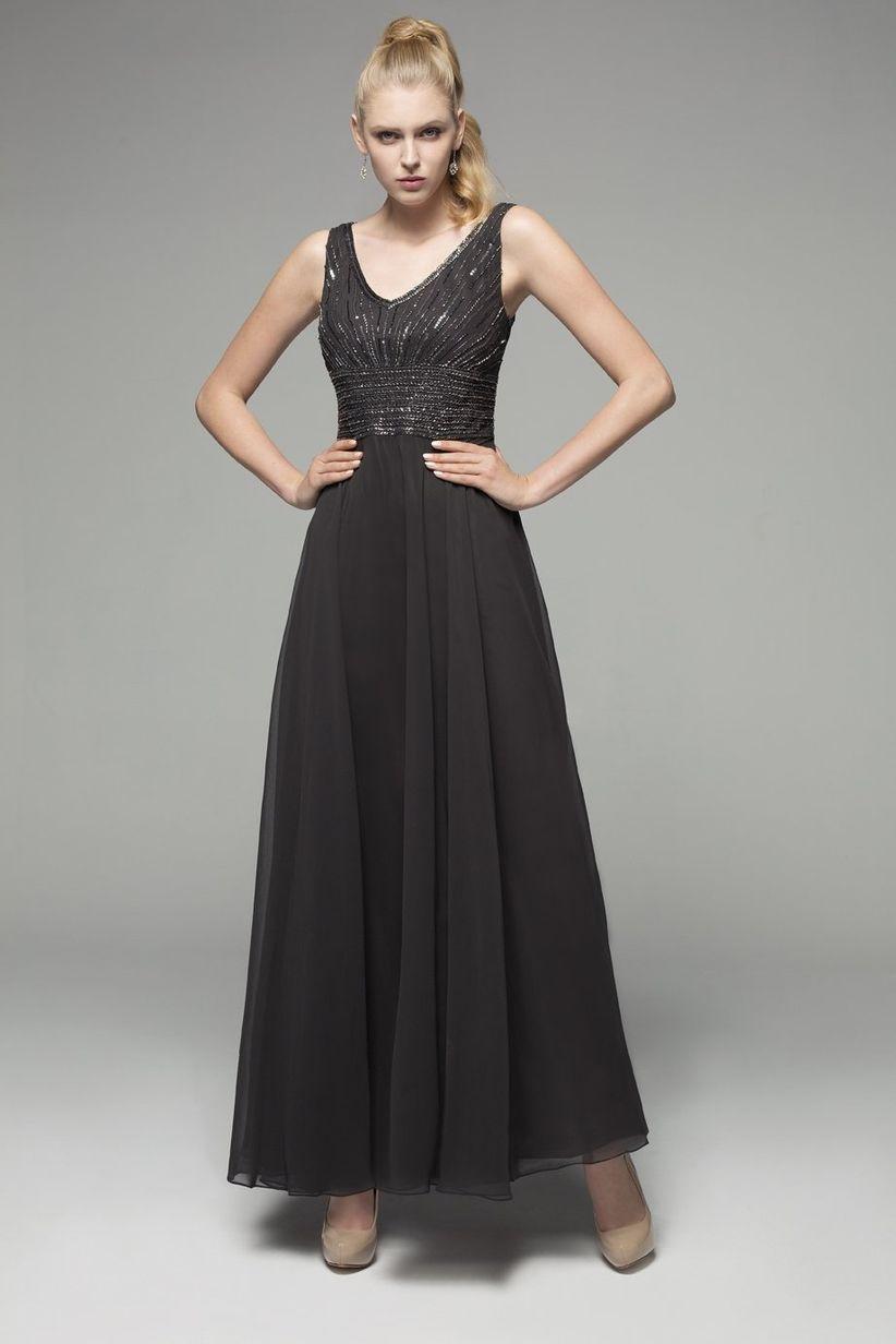Vestido negro a una boda