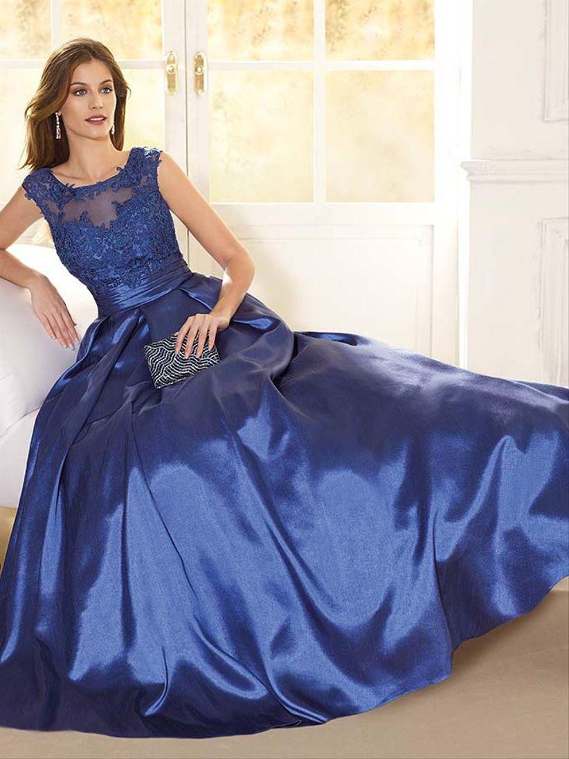 Vestidos de graduacion color azul rey