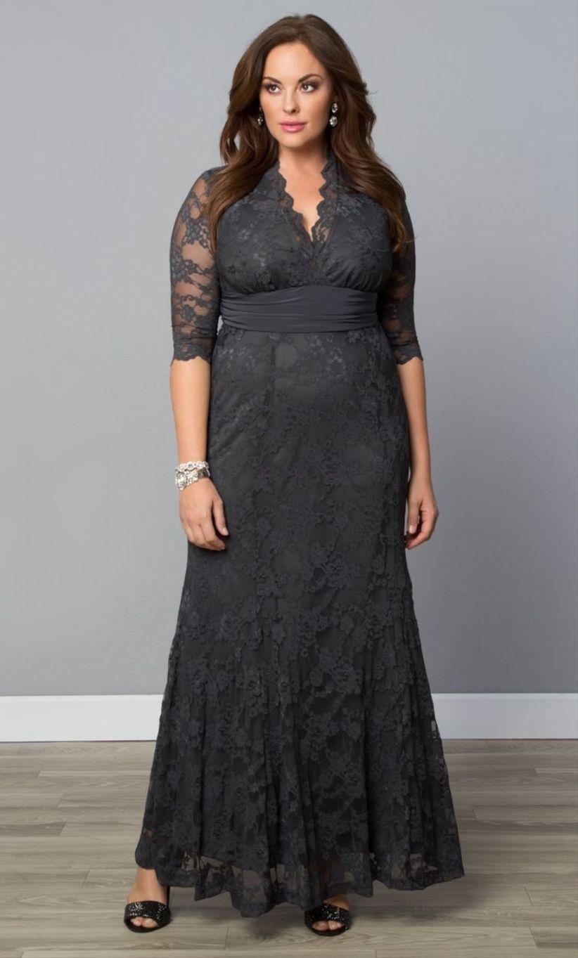 Vestidos para boda de dia para gordas