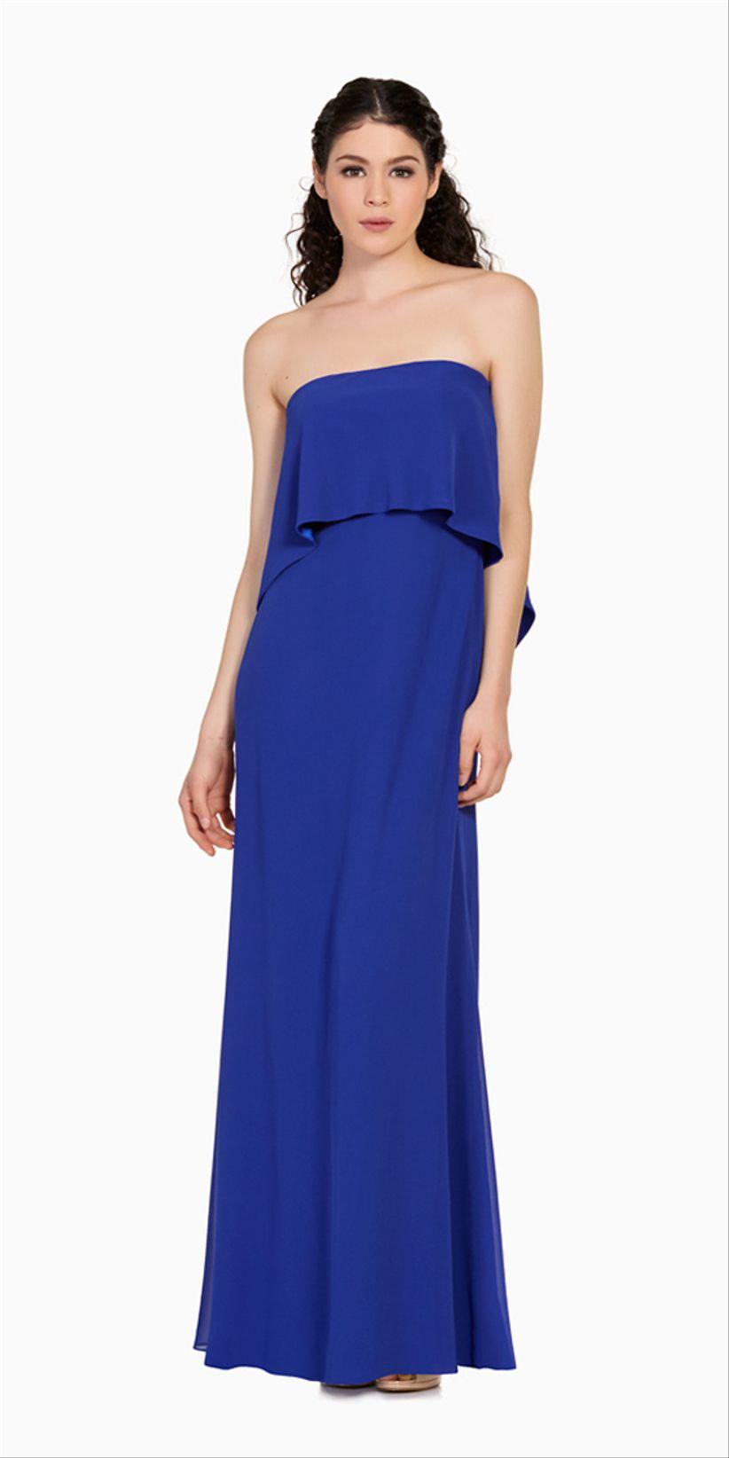 Modelos de vestidos cortos azules