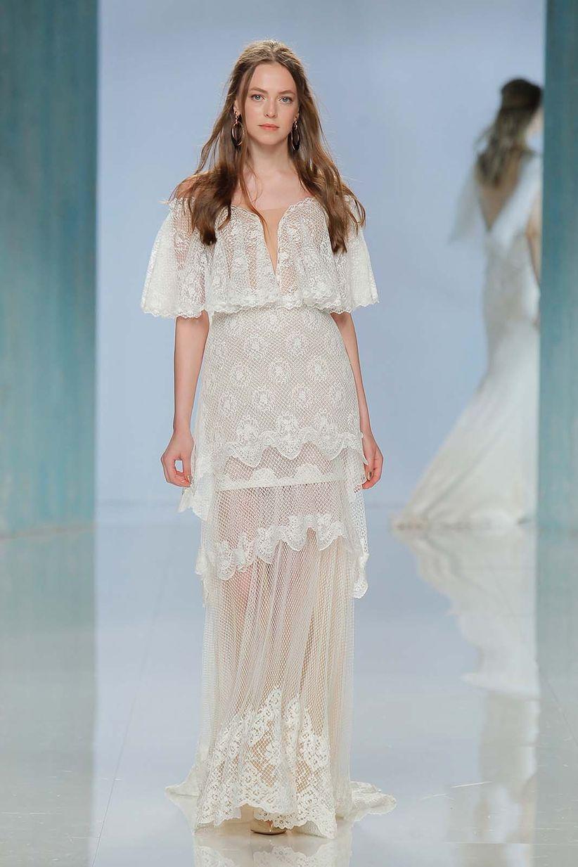 75 vestidos de novia de encaje: ¿te gustan imponentes o sencillos ...