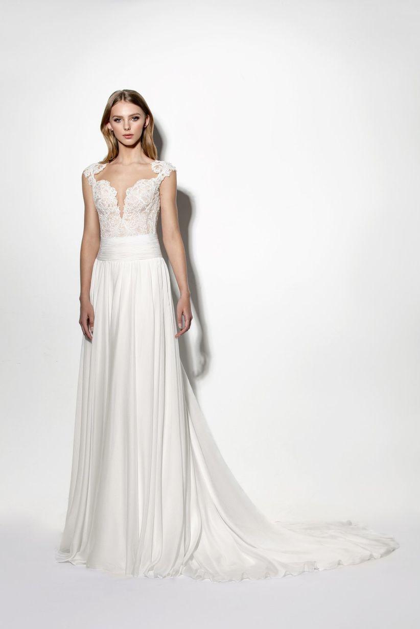 Imagenes de vestidos de novia para personas bajitas