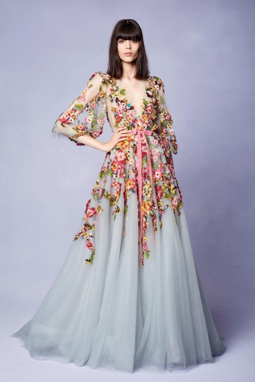 Vestidos largos para bodas informales