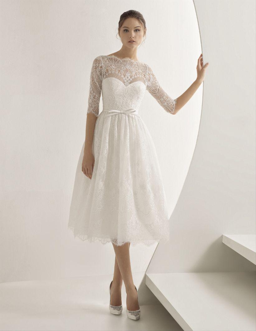 19636d1bd 60 vestidos ideales para novias bajitas... con grandes sueños ...