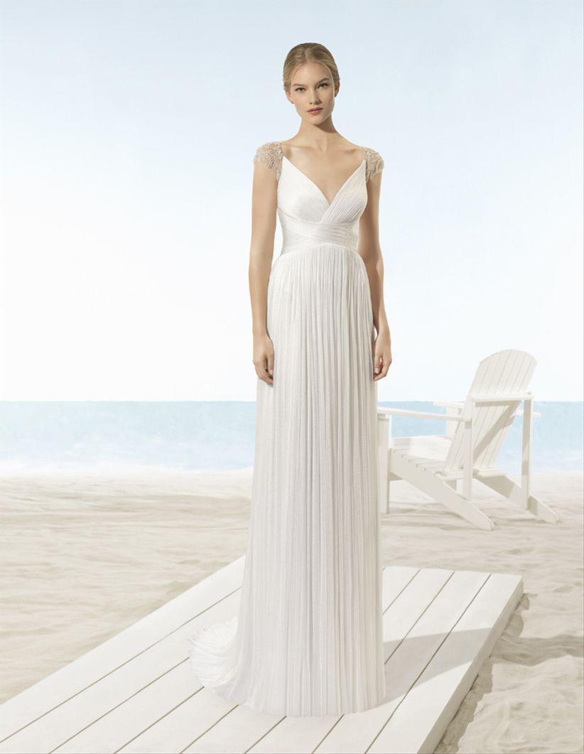 43f252afcb60 85 vestidos de novia para una boda en la playa - bodas.com.mx