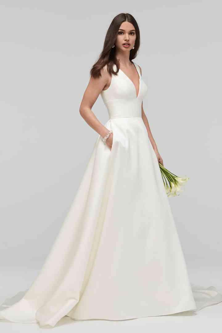 la compra auténtico mejores telas Estados Unidos 60 vestidos ideales para novias bajitas... con grandes ...