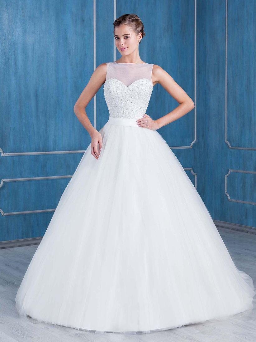 Hermosa Vestidos De Novia Alquiler Valencia Cresta - Ideas de ...