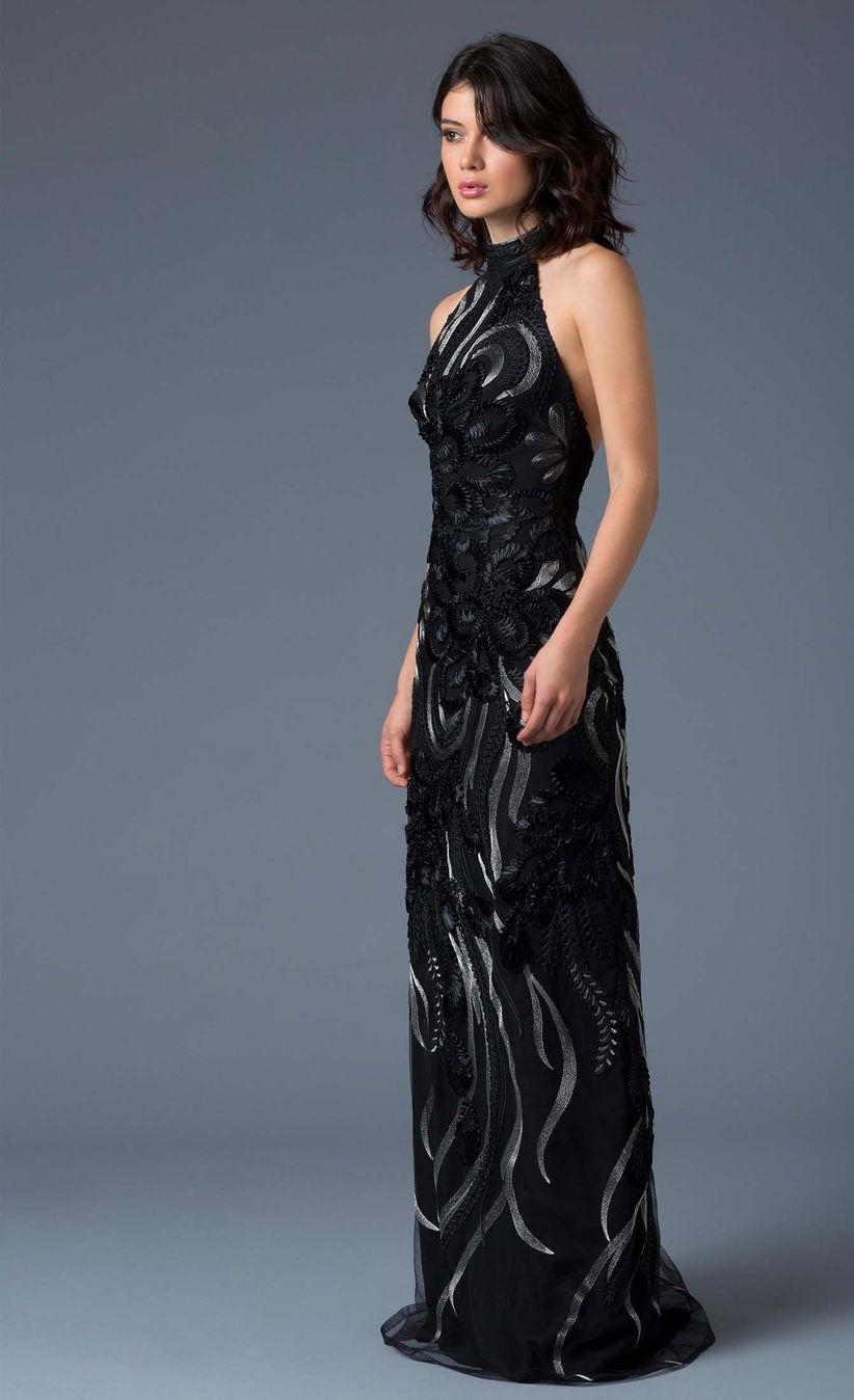 f53716ad5 Ivonne. Las bodas nocturnas son las mejores oportunidades para lucir un  vestido ...