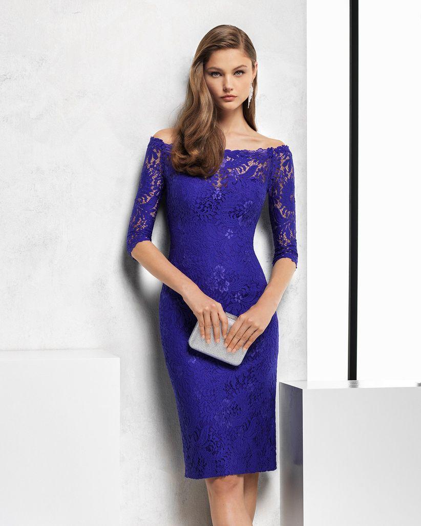 Vestidos de fiesta Rosa Clará 2018: colores básicos con detalles ...
