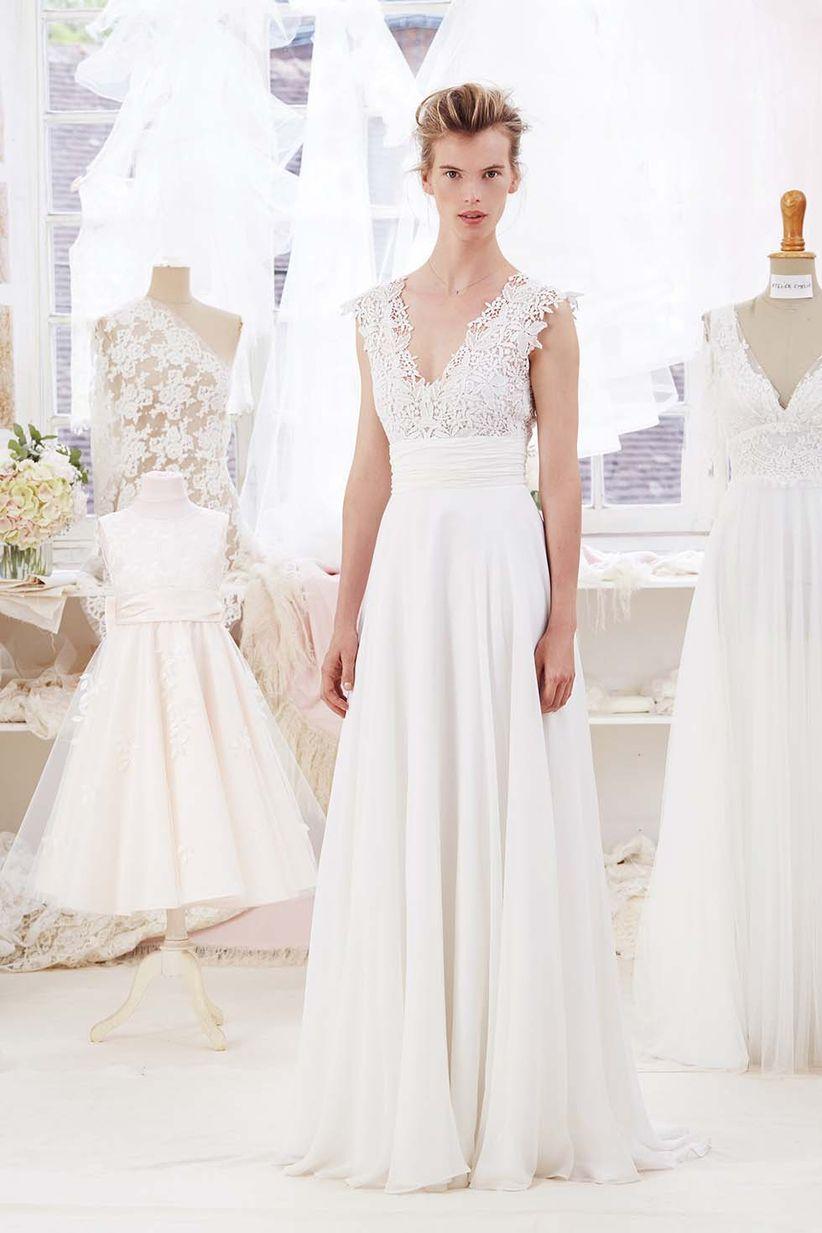Vestido ideal para novias bajitas