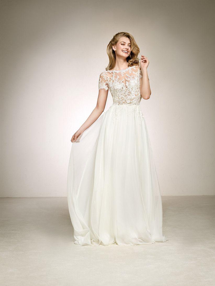 210c38253 60 vestidos ideales para novias bajitas... con grandes sueños ...