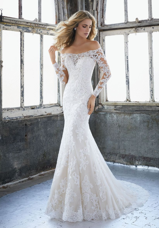 0a990467d 90 increíbles vestidos de novia con manga - bodas.com.mx