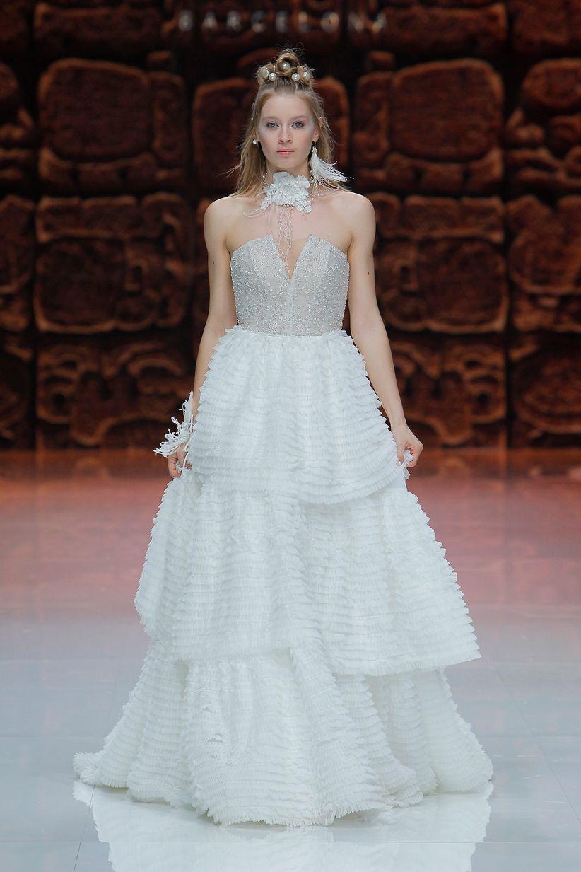 Unusual Vestido De Novia Romano Gallery - Wedding Ideas - memiocall.com