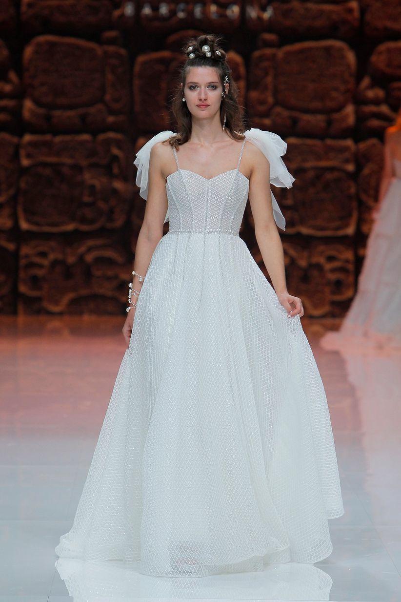 La cultura maya inspira los vestidos de novia 2019 de Inmaculada ...