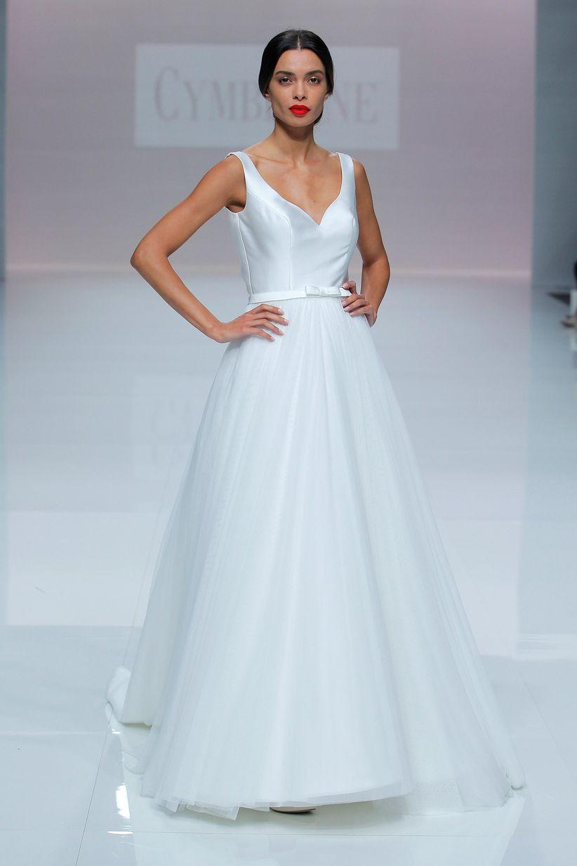 Old Fashioned Vestidos De Novia Para Bajitas Image - All Wedding ...