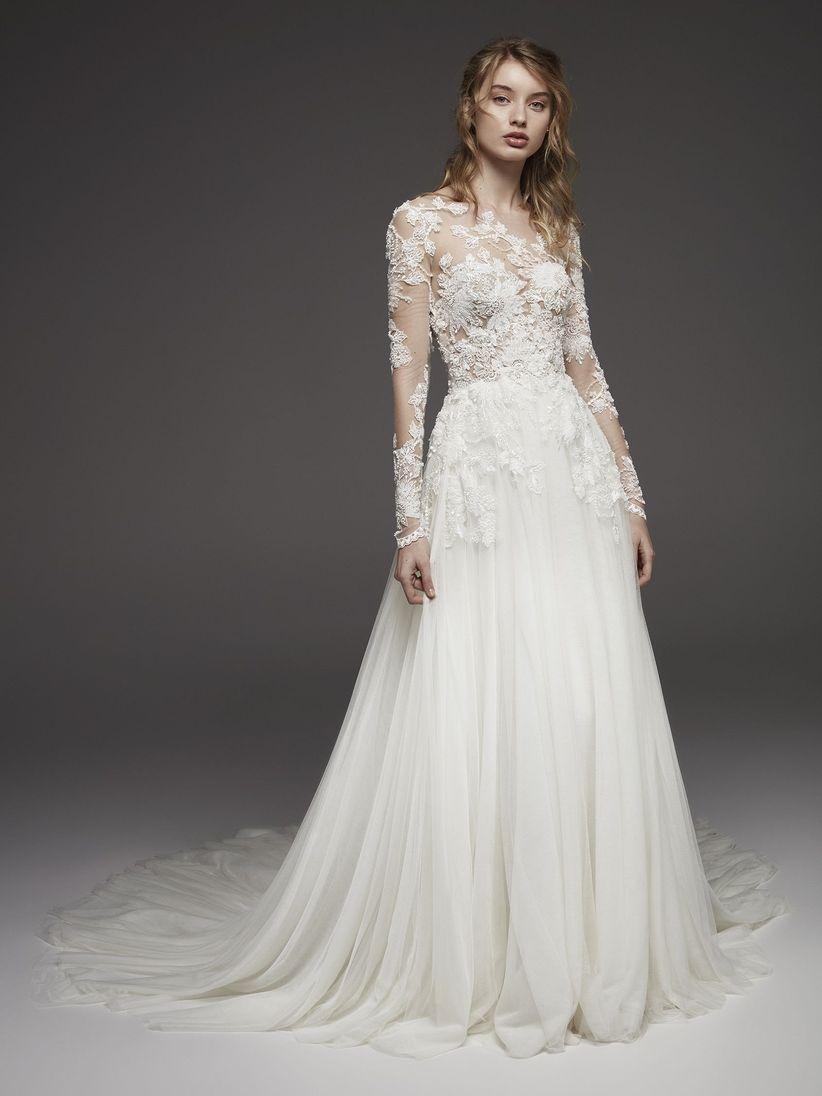149434df 90 increíbles vestidos de novia con manga - bodas.com.mx