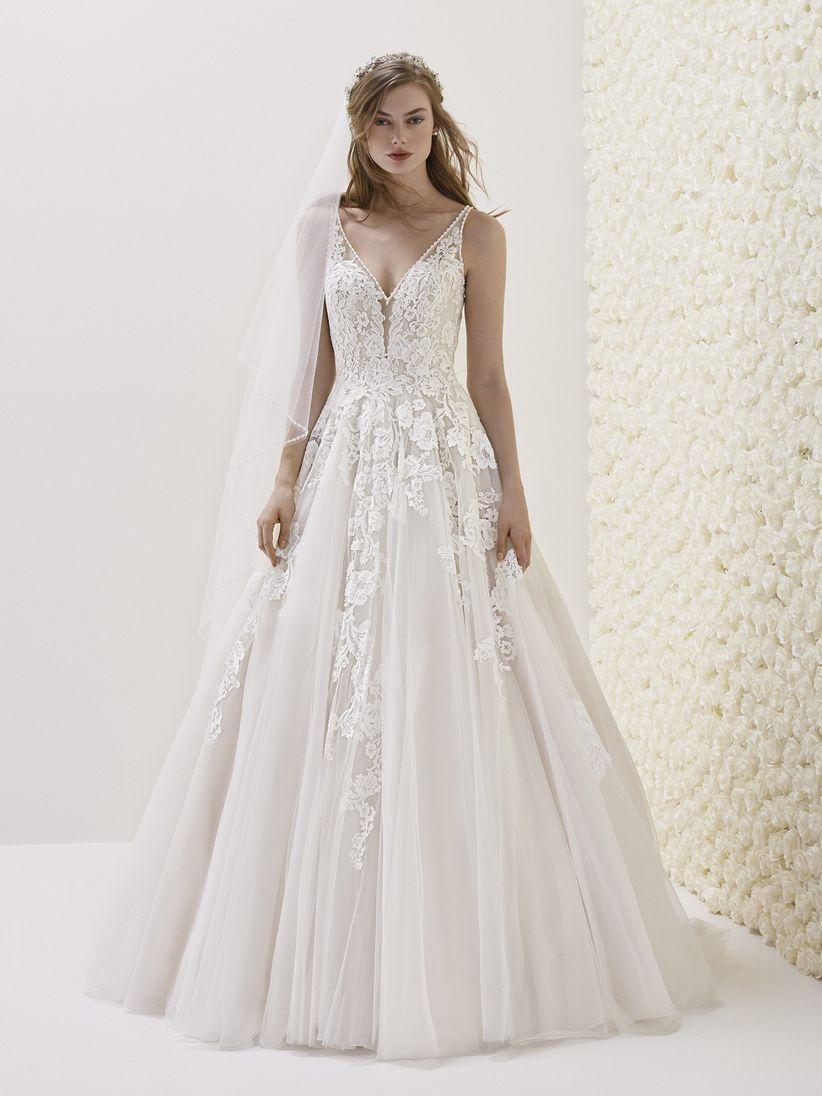 Vestidos de novia muy romanticos