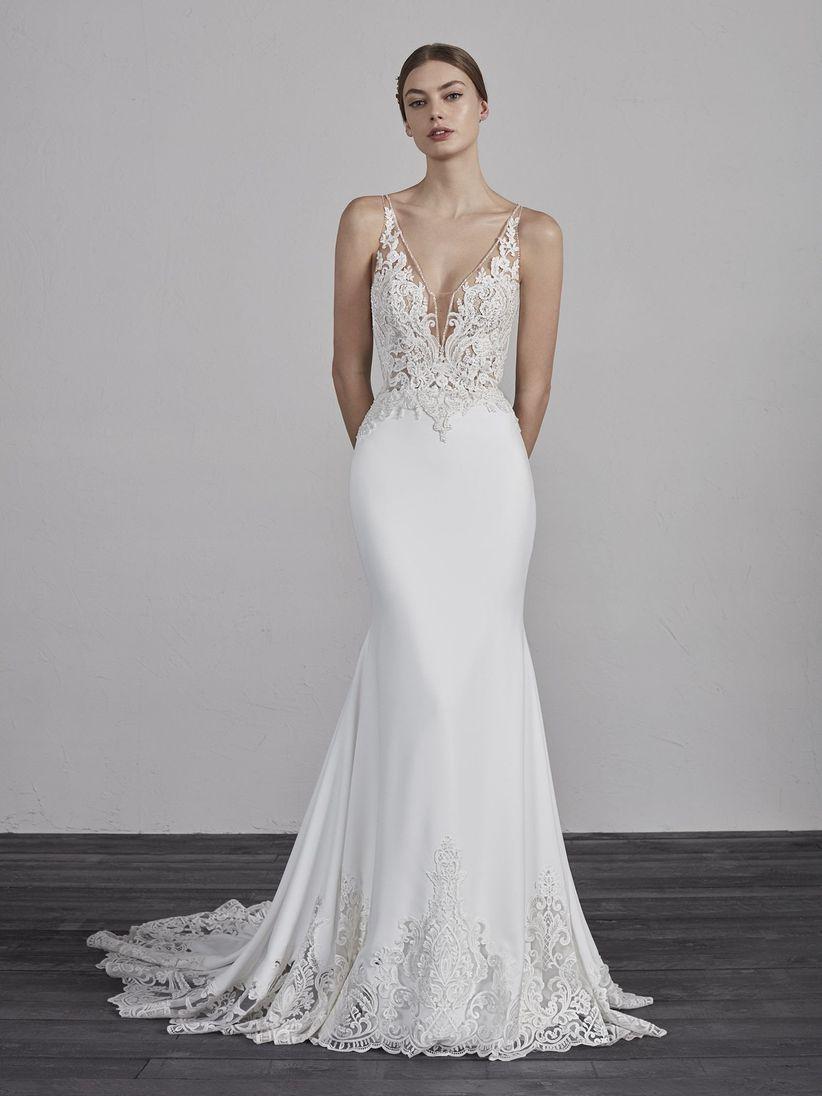 066920c1f 100 vestidos de novia corte sirena  verdades