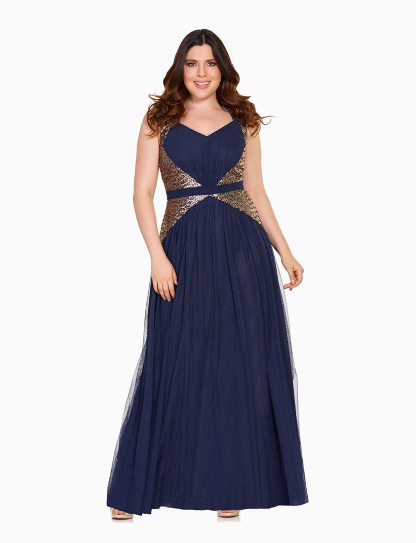 4b06b61316 Vestidos de fiesta para gorditas  30 modelos para lucir cuerpaz ...