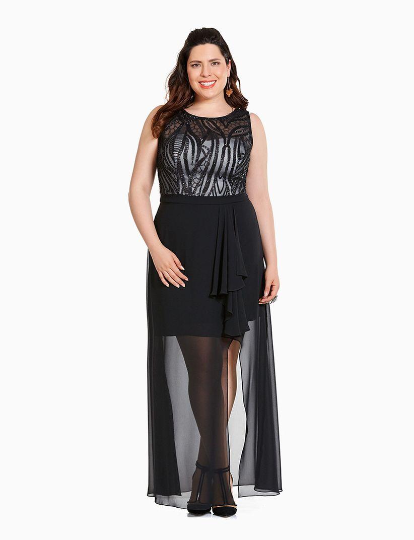 Vestidos modernos tipo coctel