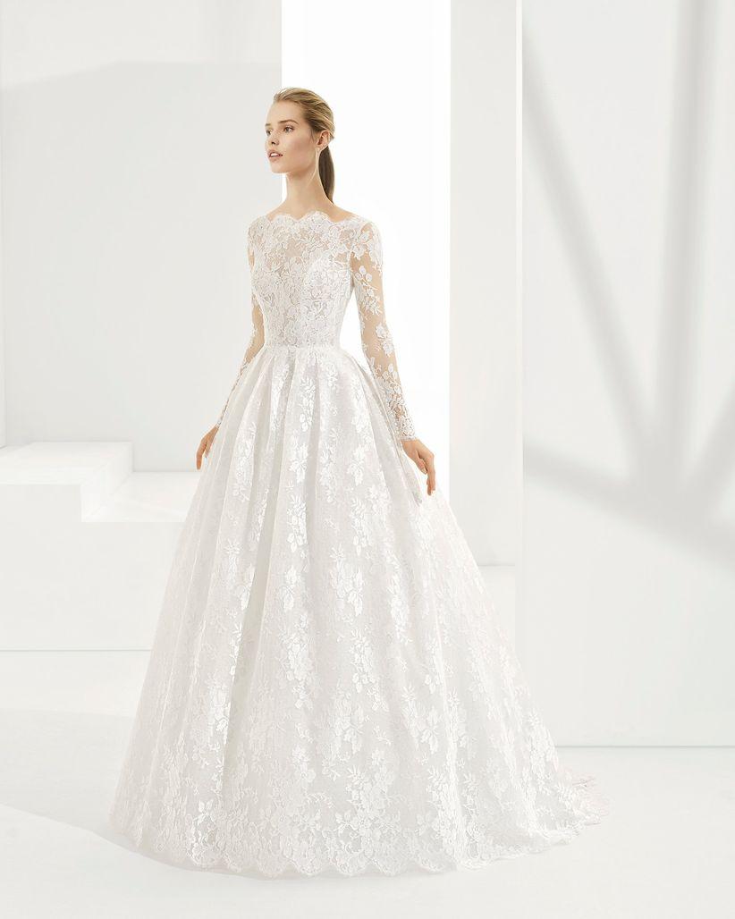 94bfb8b482 90 increíbles vestidos de novia con manga - bodas.com.mx