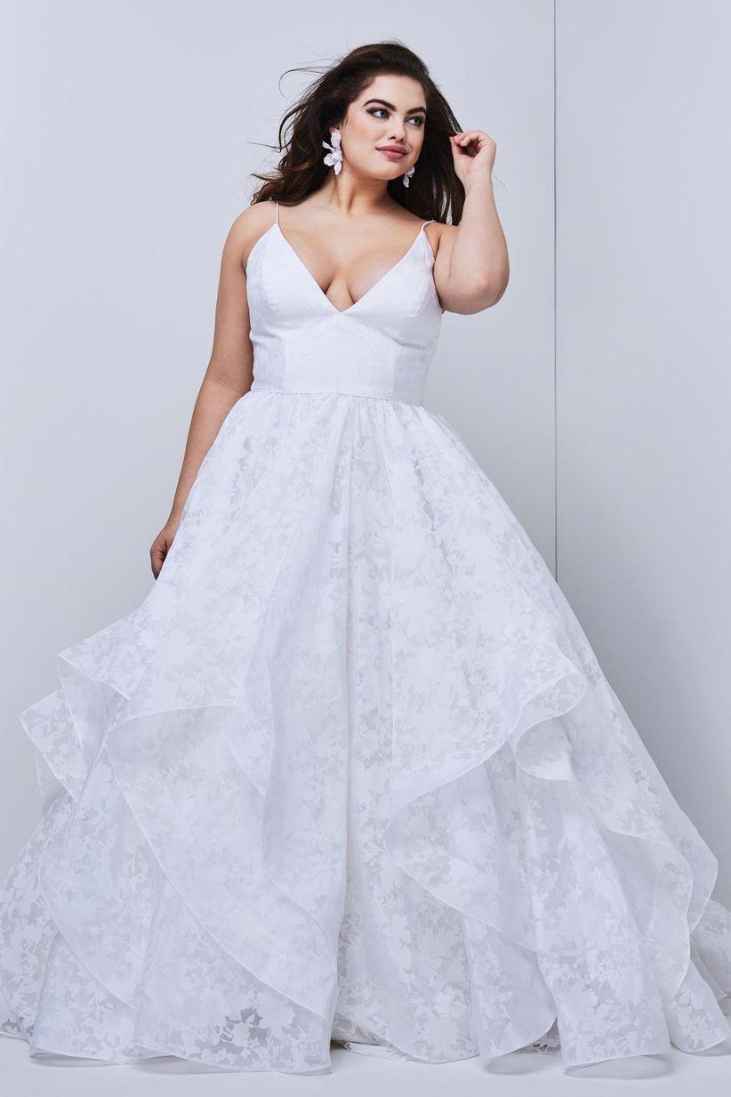 61c55f0605 30 vestidos de novia para gorditas ¡y cásate con tus curvas! - bodas ...