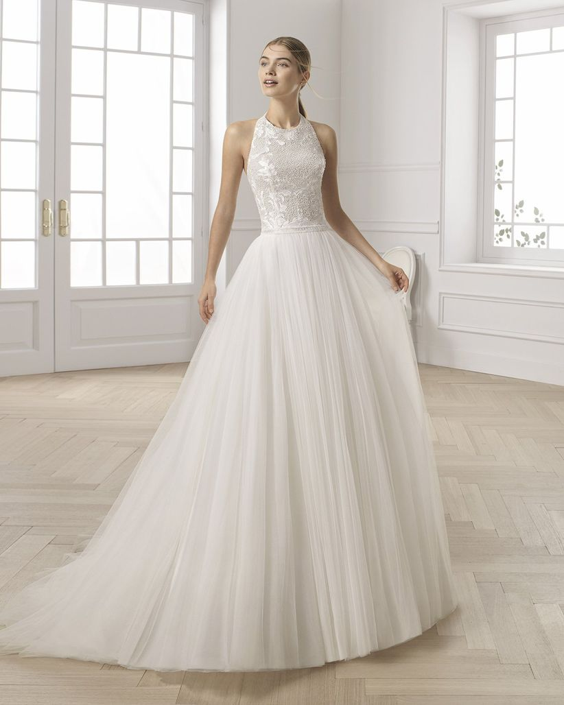 d6443366d Vestidos de novia Aire Barcelona 2019  románticos