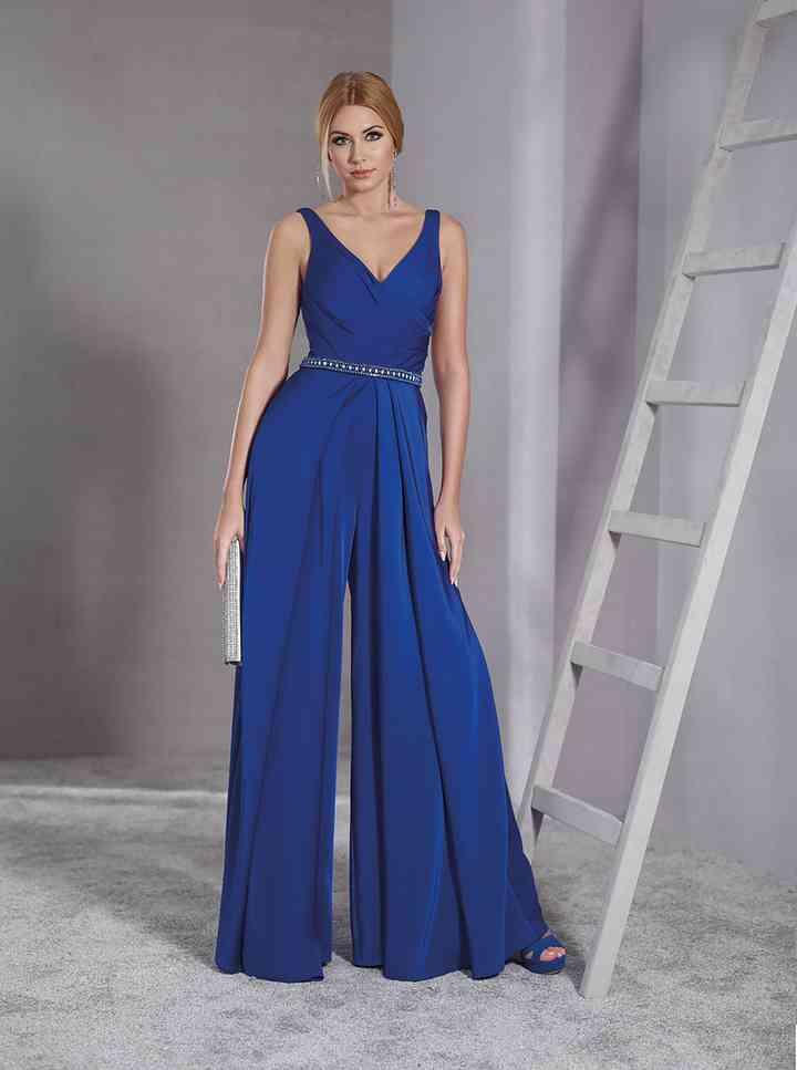 en pies imágenes de calidad perfecta buscar auténtico 45 vestidos de noche azul rey para brillar como invitada ...