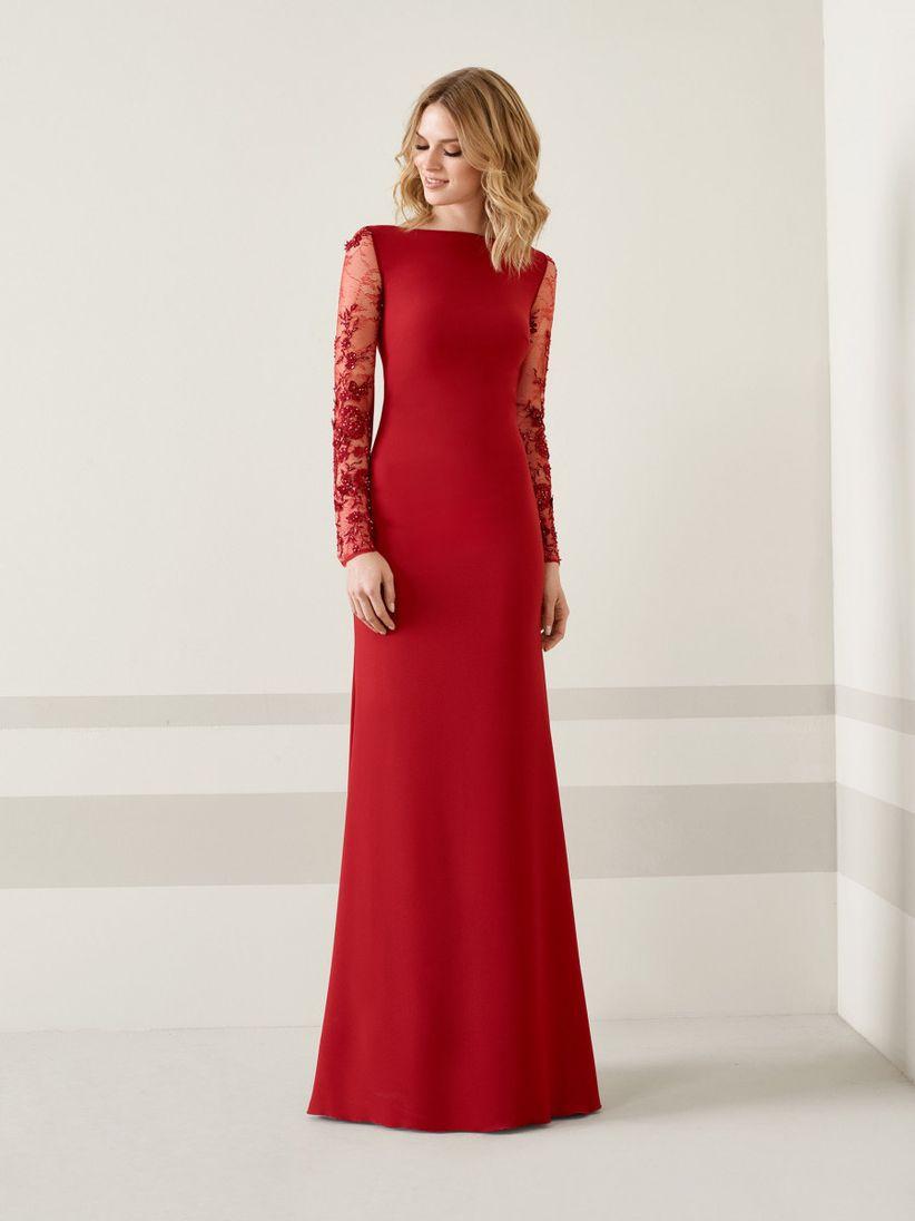 1c7473d4def 60 vestidos de noche con manga  ¿cuáles estilizan más  - bodas.com.mx