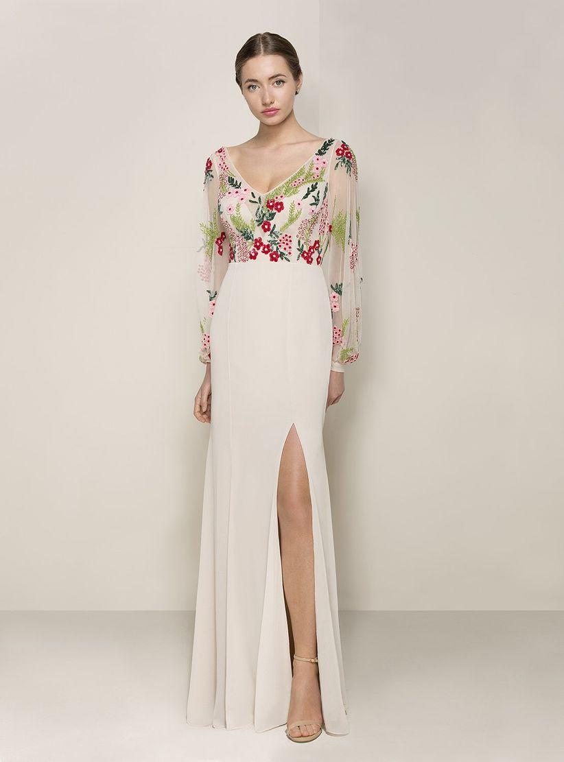 3b0008378c 60 vestidos de noche con manga  ¿cuáles estilizan más  - bodas.com.mx