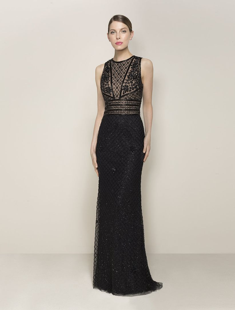 161dde203 60 vestidos de noche negros... ¡sí