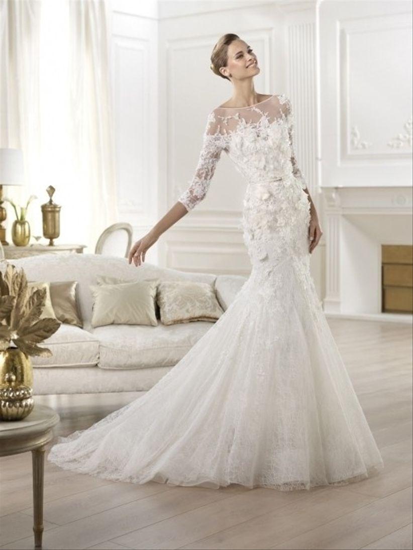 20 vestidos de novia 2014 con encaje - bodas.com.mx