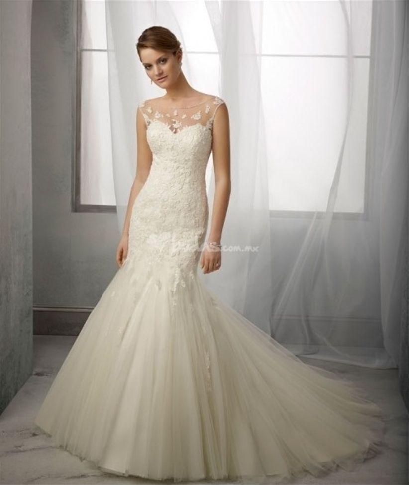 el vestido perfecto para novias altas - bodas.mx