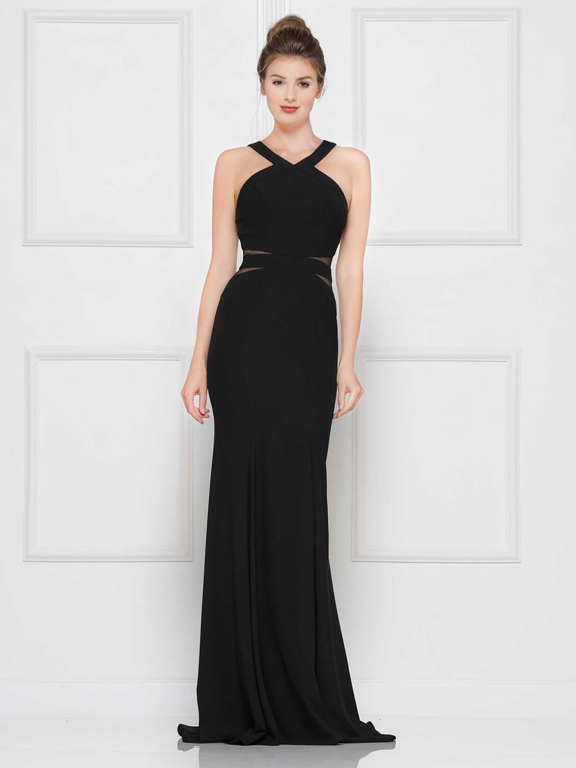 413e55eeb 60 vestidos de noche negros... ¡sí, para boda! - bodas.com.mx