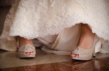 35 zapatos de novia en color nude... ¡increíbles!
