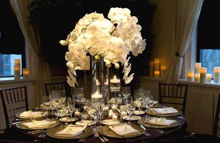 Decoraci�n para bodas en invierno