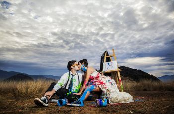 20 ideas muy originales para un trash the dress