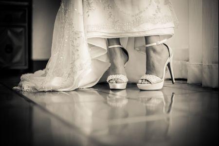 Los errores m�s comunes a la hora de escoger los zapatos de novia