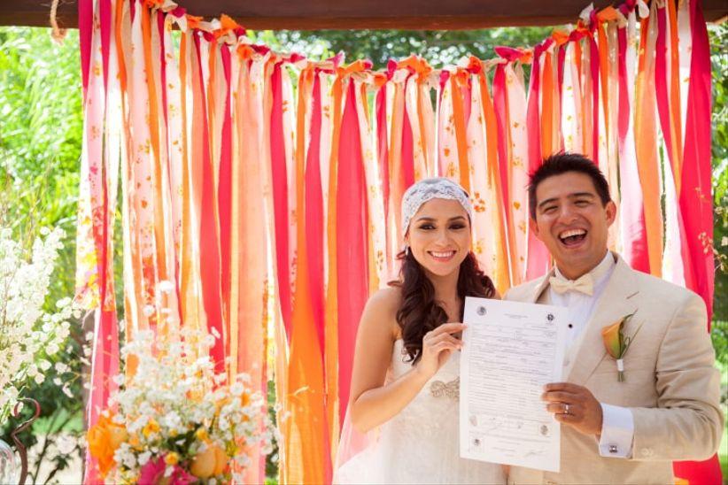 Acta De Matrimonio Simbolico : Trámites y cambios tras la boda bodas mx