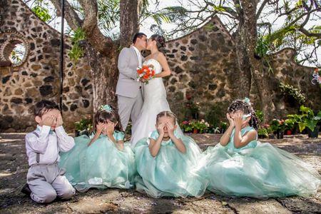 Rol de los pajecitos de boda