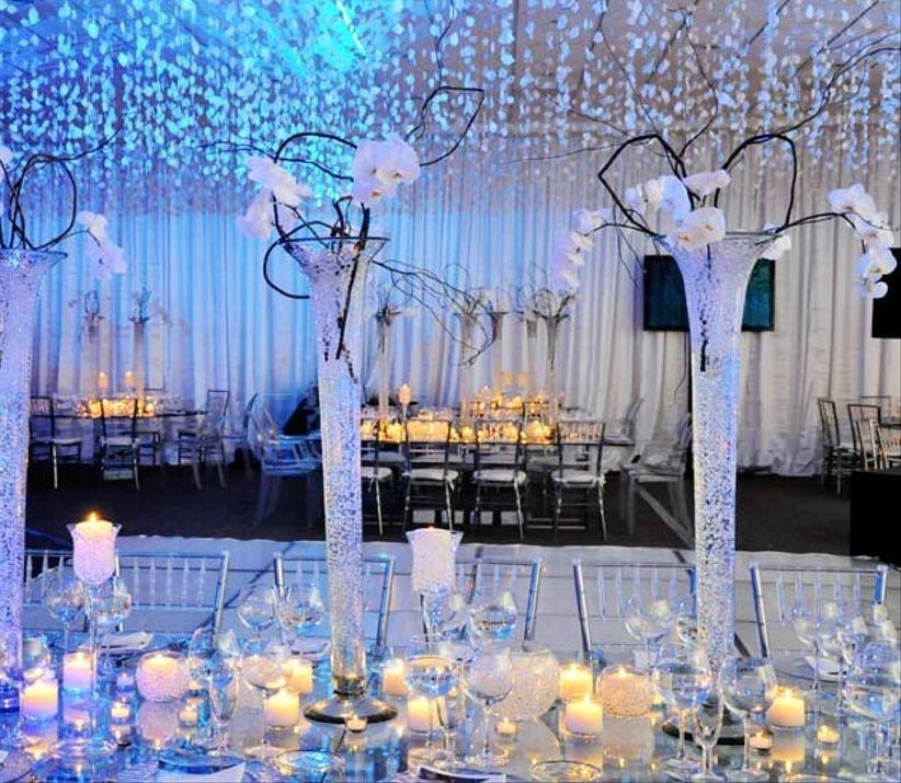 Matrimonio Tema Invernal : Boda con temática invernal bodas mx
