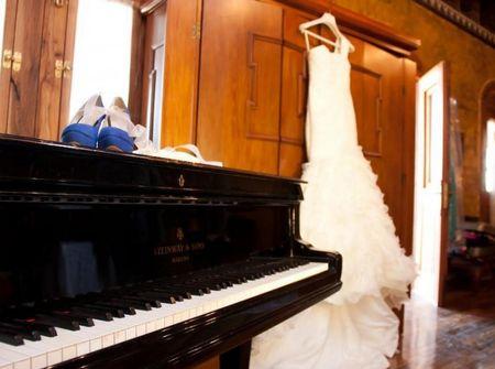 Fotos del ajuar de novia